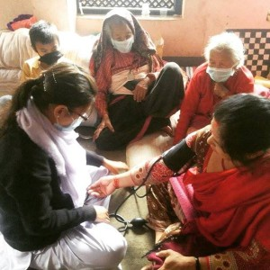 Group-Home-Girls-Nepal-Earthquake-Nurse-Unatti-Foundation-Facebook-Photo